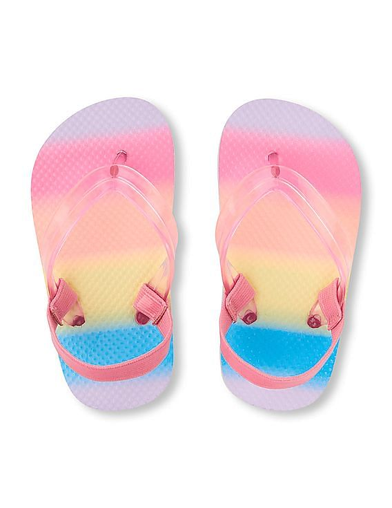 4def49bc9 Buy Toddler Girl Toddler Girl Rainbow Flip Flop online at NNNOW.com