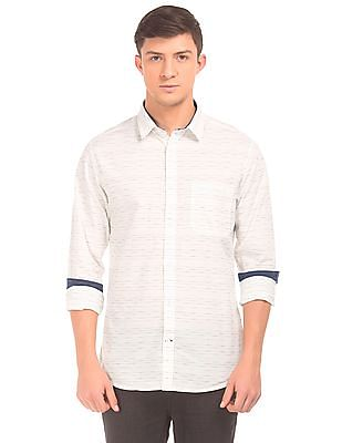 Izod Striped Slim Fit Shirt