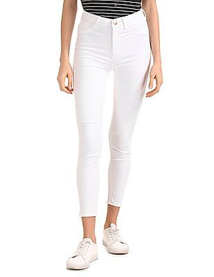 Flying Machine Women Betty Fit High Rise Jeggings