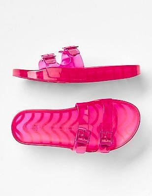 GAP Boys Pink Girls Jelly Slide Sandals