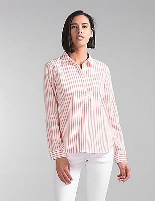 GAP Stripe Popover Shirt
