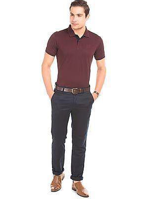 Arrow Sports Solid Pique Polo Shirt