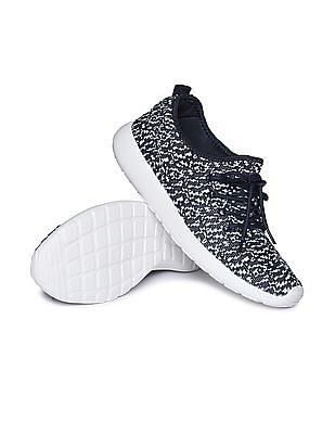 Aeropostale Knit Upper Contrast Sole Sneakers