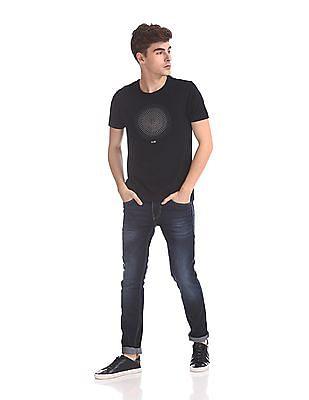 Flying Machine Regular Fit Graphic T-Shirt