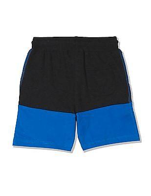 Cherokee Boys Drawstring Waist Colour Blocked Shorts