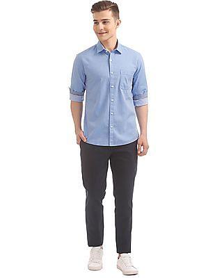 Ruggers Regular Fit Jacquard Shirt