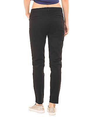 Cherokee Solid Regular Fit Trousers
