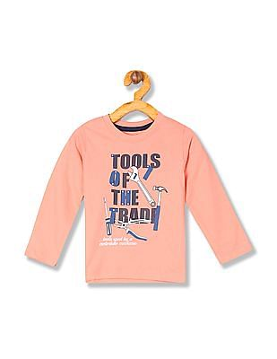 Donuts Boys Long Sleeve Graphic T-Shirt