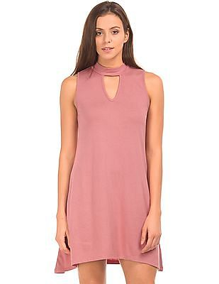 Aeropostale Band Neck Swing Dress