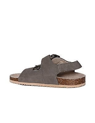 The Children's Place Baby Brown Double Strap Sandals