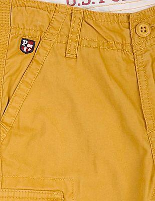 U.S. Polo Assn. Kids Boys Regular Fit Cargo Shorts