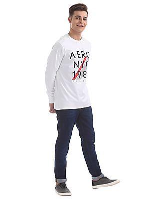Aeropostale Graphic Printed Long Sleeves T-Shirt