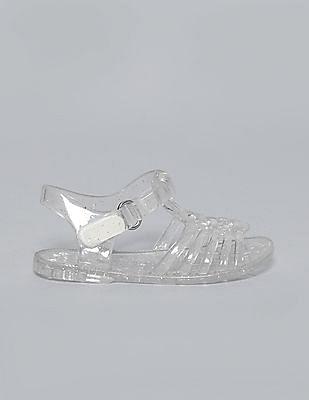 GAP Baby Basket Weave Jelly Sandals