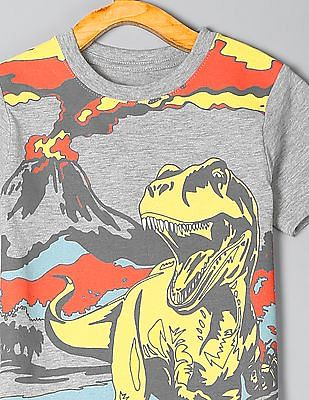 GAP Toddler Boy Graphic Short Sleeve T-Shirt