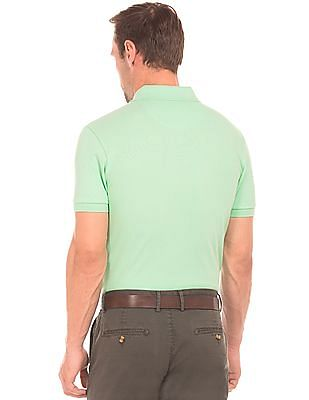 U.S. Polo Assn. Pique Slim Fit Polo Shirt