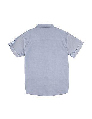 Cherokee Boys Colour Blocked Short Sleeve Shirt