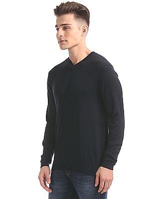 Arrow Newyork Slim Fit V-Neck Sweater