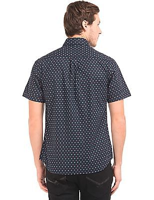 U.S. Polo Assn. Short Sleeve Geometric Print Shirt