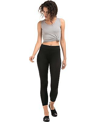 SUGR Solid High Waist Active Leggings