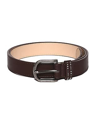 SUGR Burnished Buckle Solid Belt