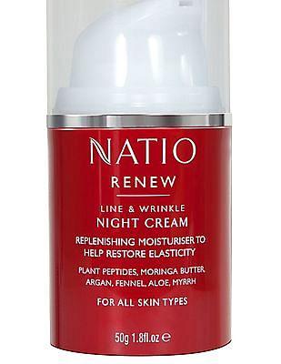 NATIO Line And Wrinkle Night Cream