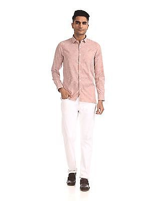 Excalibur Mitered Cuff Striped Shirt - Pack Of 2