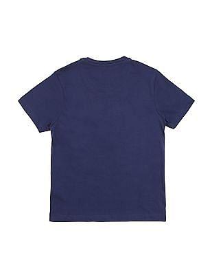 FM Boys Boys Slim Fit Graphic T-Shirt