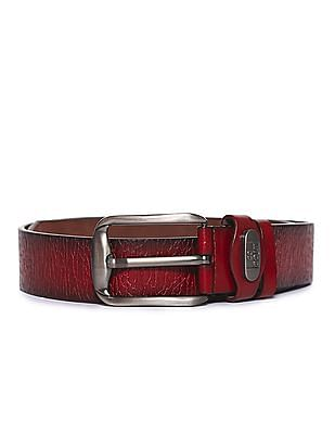 Colt Metallic Buckle Textured Belt