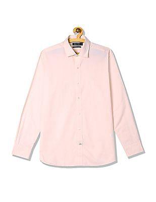 Nautica Long Sleeve Two Tone Boathouse Twill Shirt
