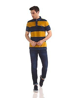U.S. Polo Assn. Denim Co. Brandon Slim Tapered Fit Dark Wash Jeans