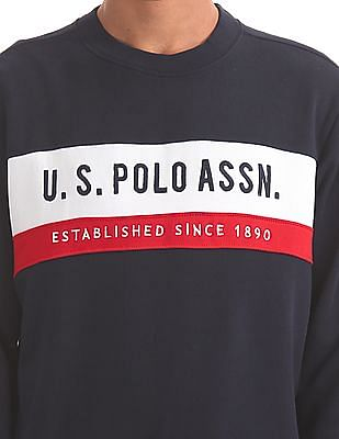 U.S. Polo Assn. Regular Fit Full Sleeve Sweatshirt