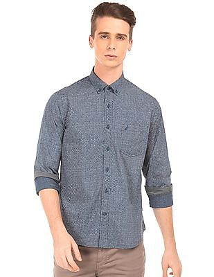Nautica Printed Slim Fit Shirt