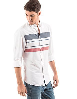 Gant Striped Chest Regular Fit Shirt