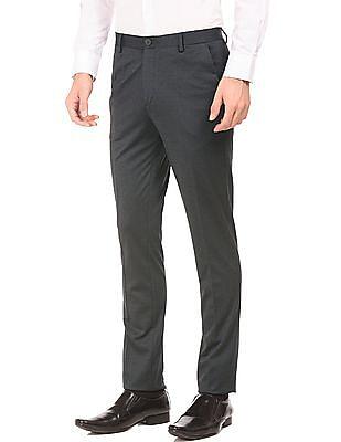 Arrow Newyork Super Slim Fit Stretch Trousers
