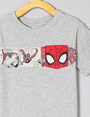 GAP Baby Grey Marvel© Graphic Short Sleeve T-Shirt