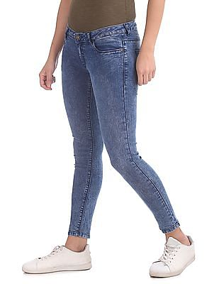 SUGR Skinny Fit Washed Jeans
