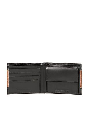 Flying Machine Suede Bi-Fold Leather Wallet