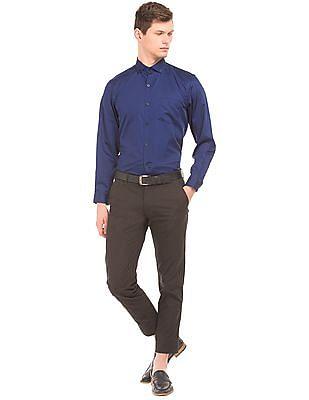 Izod Jacquard Slim Fit Shirt