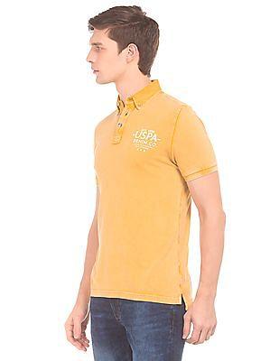 U.S. Polo Assn. Denim Co. Washed Button Down Polo Shirt