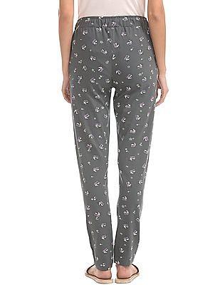 SUGR Unicorn Printed Cotton Lounge Pants