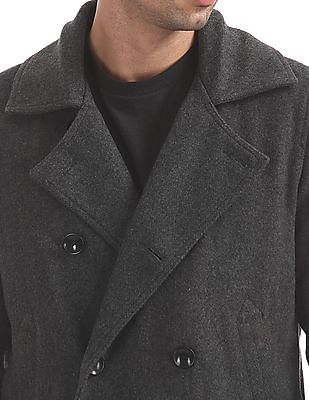 U.S. Polo Assn. Double Breasted Wool Coat