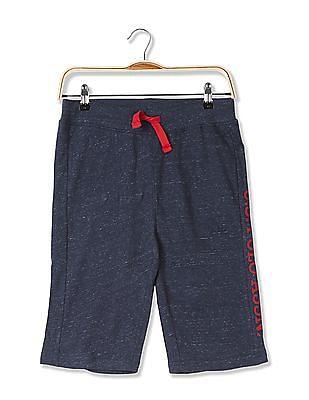 U.S. Polo Assn. Kids Boys Standard Fit Drawstring Waist Shorts