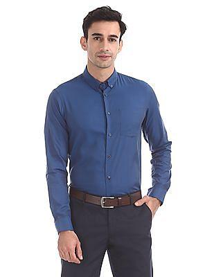 Arrow Newyork Slim Fit Button Down Collar Shirt