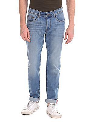 Izod Slim Fit Stone Wash Jeans