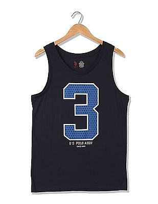USPA Innerwear Printed Sport Vest