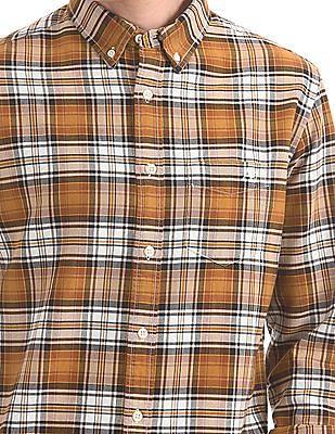 Aeropostale Button Down Collar Check Shirt