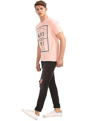 Aeropostale Super Skinny Fit Distressed Jeans