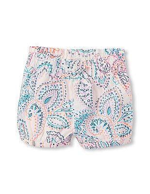 The Children's Place Toddler Girl Printed Woven Bubble Shorts