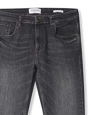 Cherokee Slim Fit Whiskered Jeans