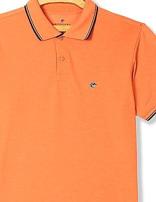 Ruggers Short Sleeve Tipped Polo Shirt